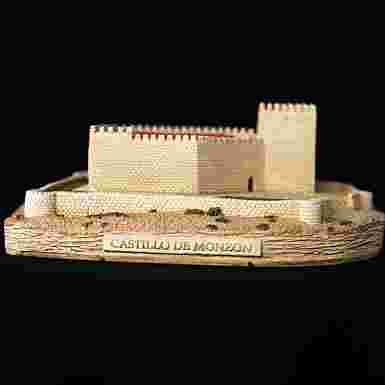 Castillo de Monzón en Monzón (Palencia)