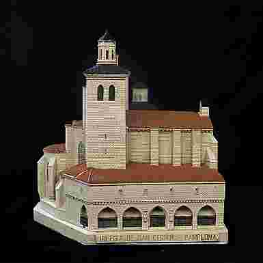 Iglesia de San Cernin de Pamplona (Navarra)