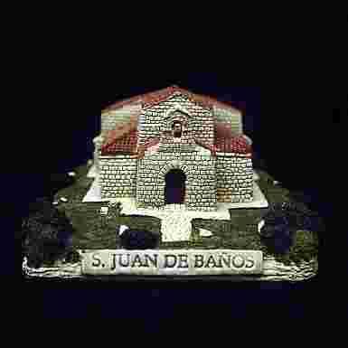 Iglesia de San Juan Bautista de Baños de Cerrato (Palencia) (Pequeña)