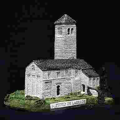 Iglesia de San Pedro de Larrede (Huesca)
