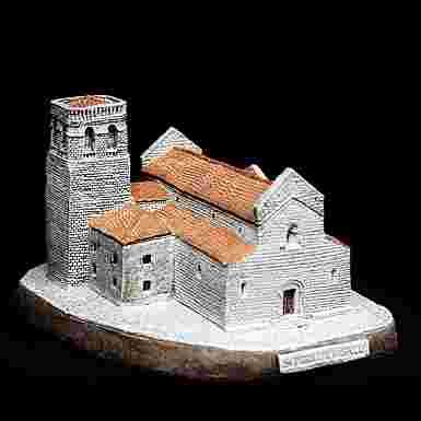 Iglesia de Sant Pere en Beselú (Gerona)