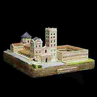 Monasterio de Santa María en Ripoll (Gerona)
