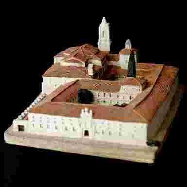Monasterio de Santo Domingo en Santo Domingo de Silos (Burgos)