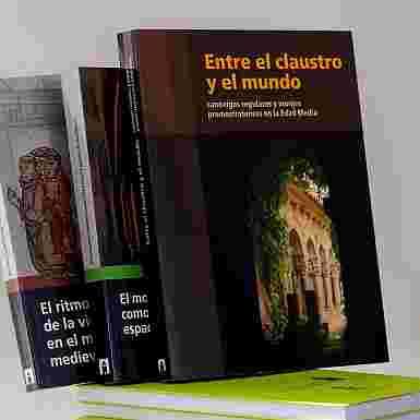 Monasterios Medievales, ejemplo de convivencia en reclusión (3 LIBROS)