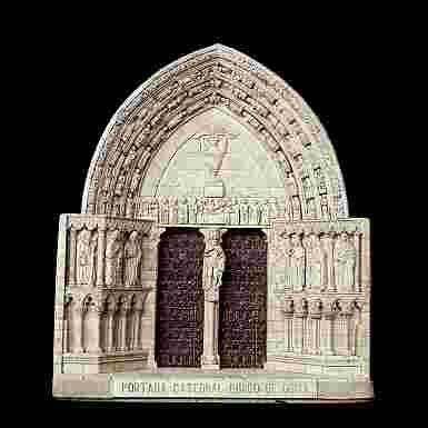 Portada de la Catedral de Burgos de Osma (Soria) (Grande)