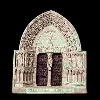 Portada de la Catedral de Burgos de Osma (Soria) (Pequeña)