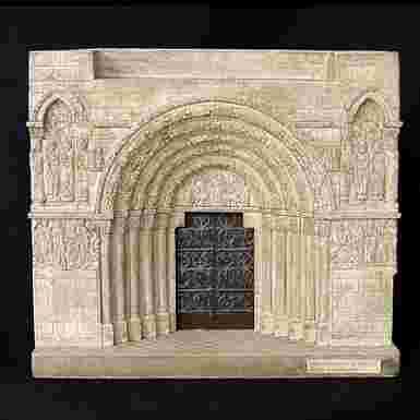 Portada de San Miguel de Estella (Navarra) (Pequeña)