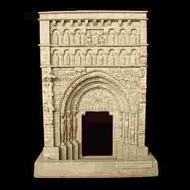 Portada de Santa María de Sangüesa (Navarra) (Pequeña)