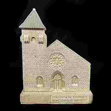 Portalápices - Santa María de Roncesvalles (Navarra)