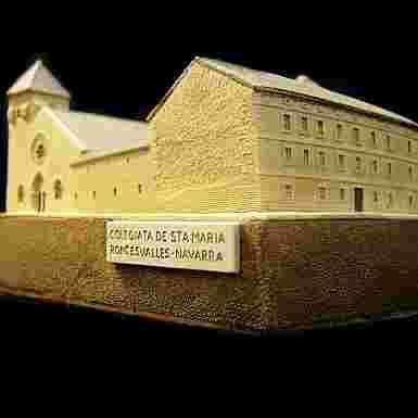 Real Colegiata de Santa María (Roncesvalles) (Navarra) (Pequeña)