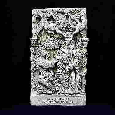 Tabla de la Anunciación en el Monasterio de Santo Domingo de Silos (Burgos)