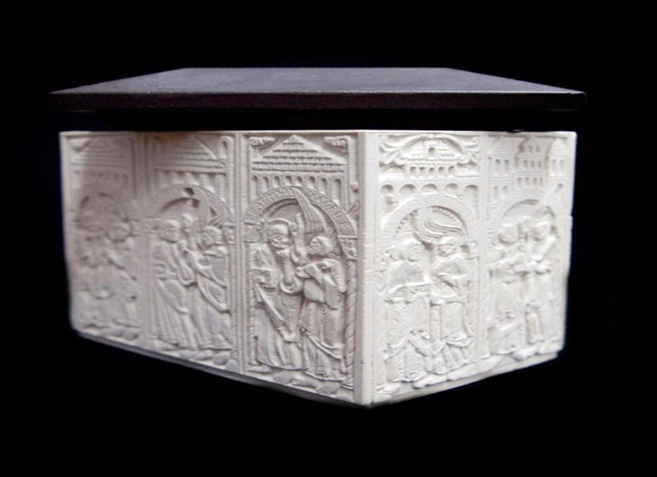 Arqueta de las Bienaventuranzas de San Isidoro (León)