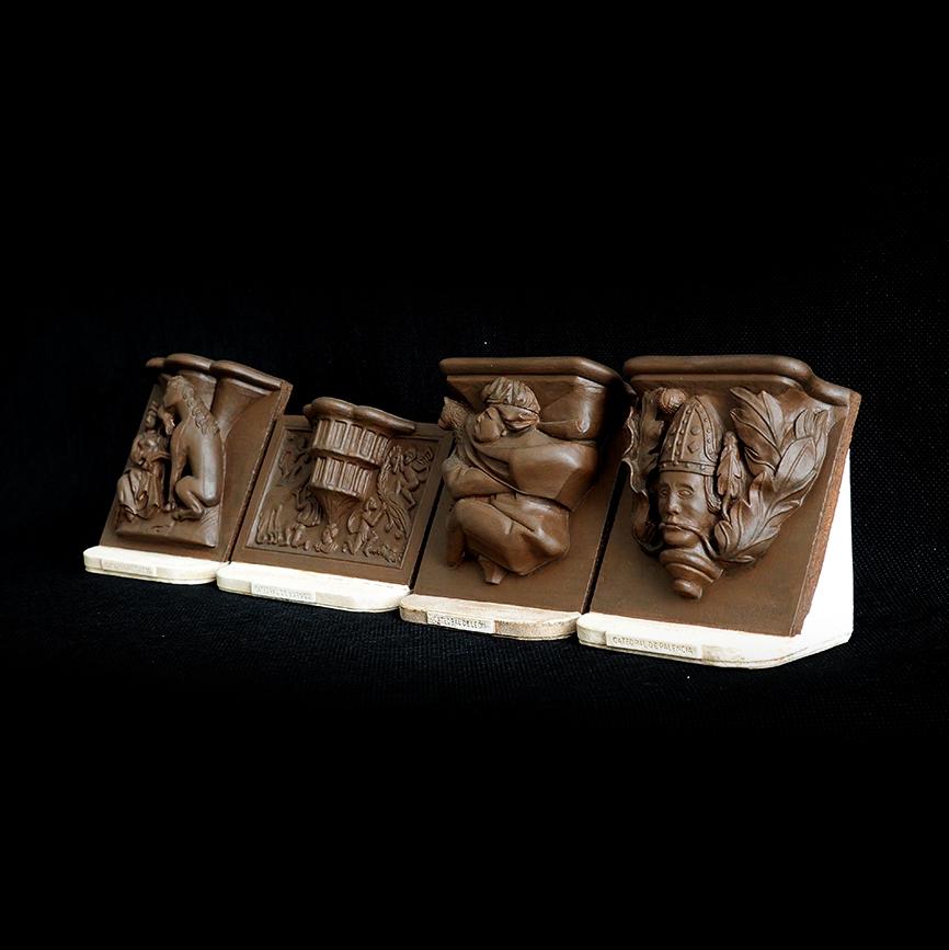 Colección de misericordias de catedrales