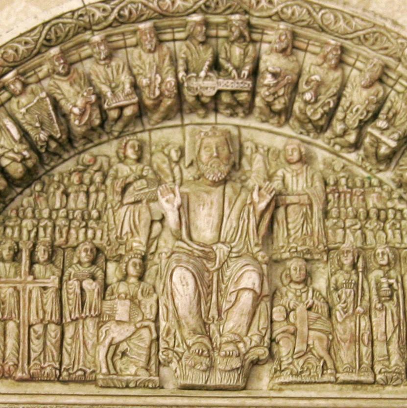 Cuadro del Pórtico de la Gloria (Santiago de Compostela)