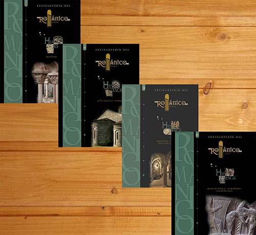 Enciclopedia del románico. Huesca (4 tomos)
