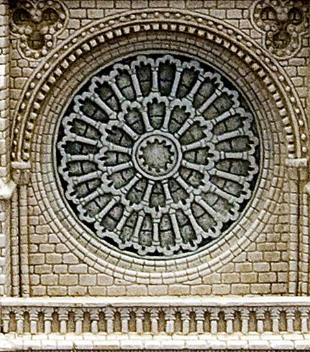 Fachada de la Catedral de Notre Dame - París (Francia)