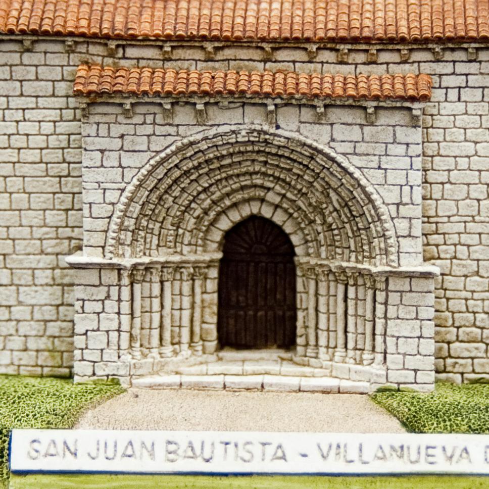 Iglesia de San Juan Bautista de Villanueva del Rio (Palencia) (Pequeña)
