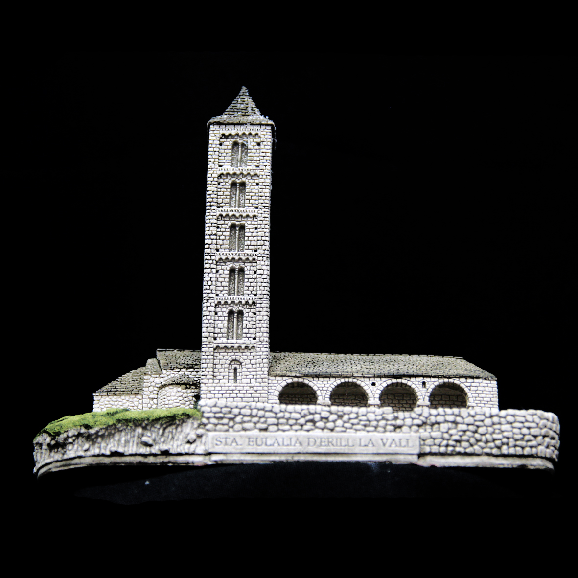 Iglesia de Santa Eulalia en Erill la Vall (Lérida)