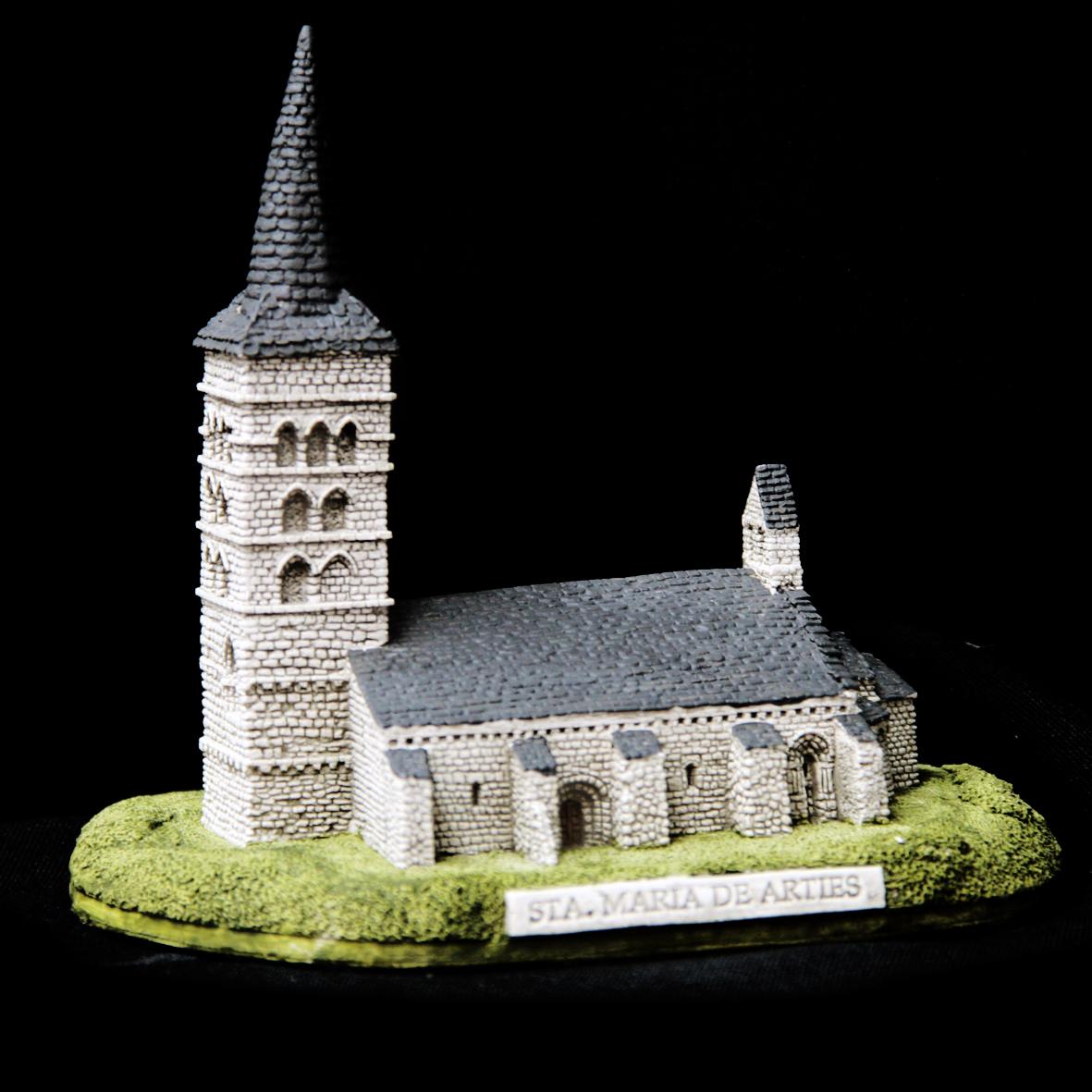 Iglesia de Santa María en Arties (Lérida)