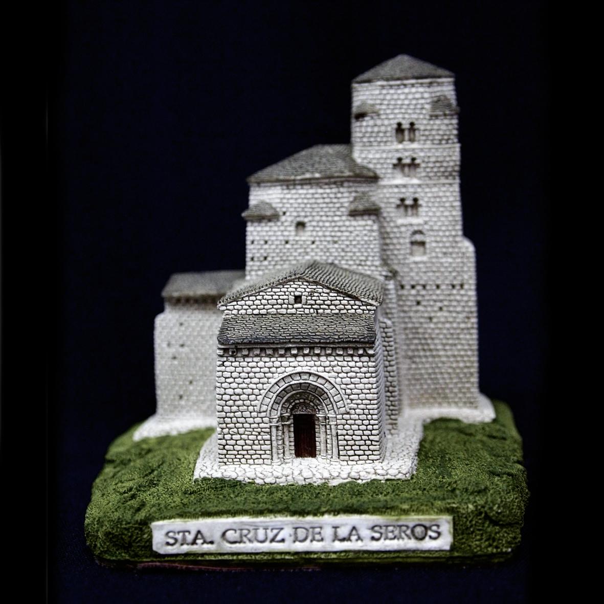 Iglesia de Santa María en Santa Cruz de la Serós (Huesca)