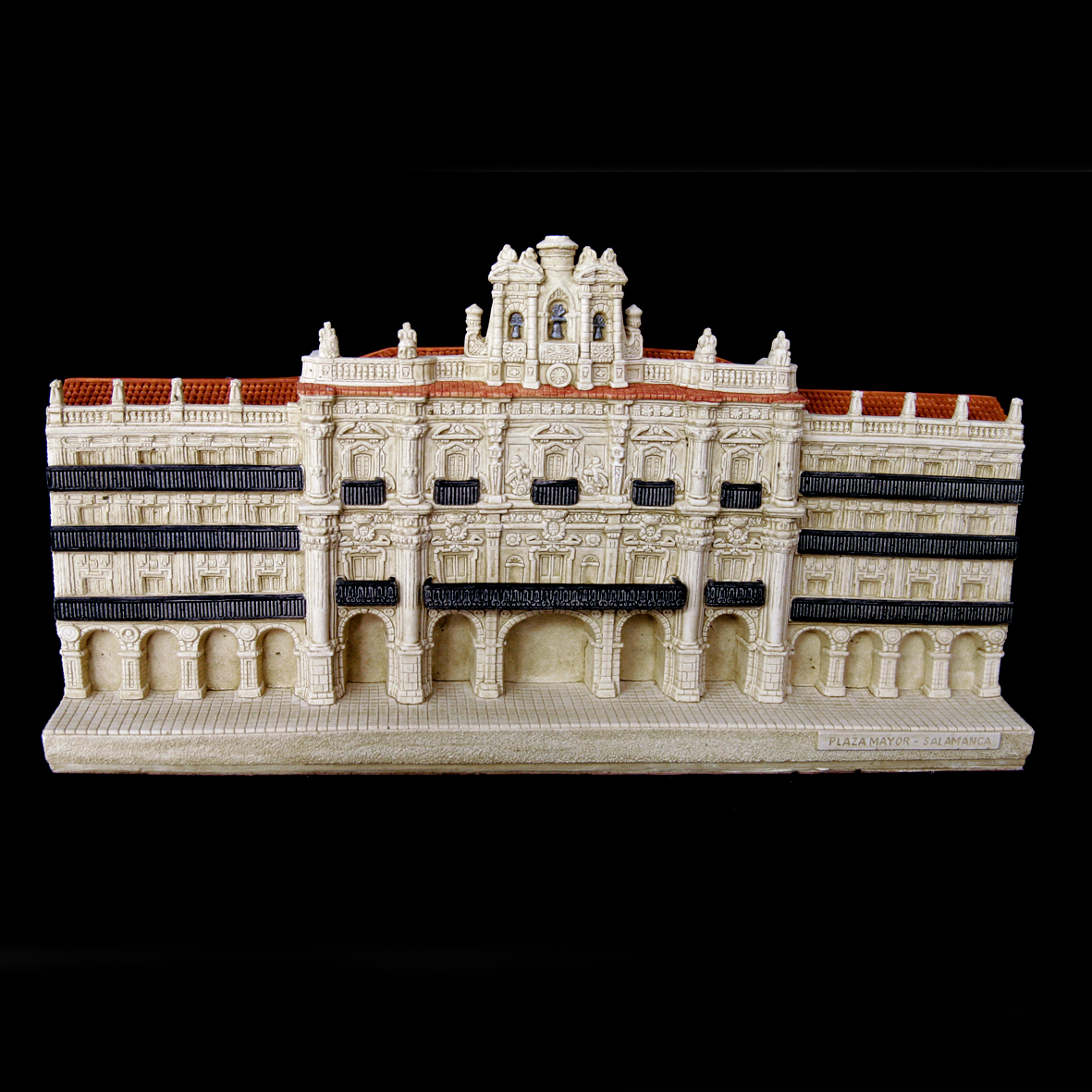 Plaza Mayor con la Fachada del Reloj de Salamanca (Salamanca) (Grande)