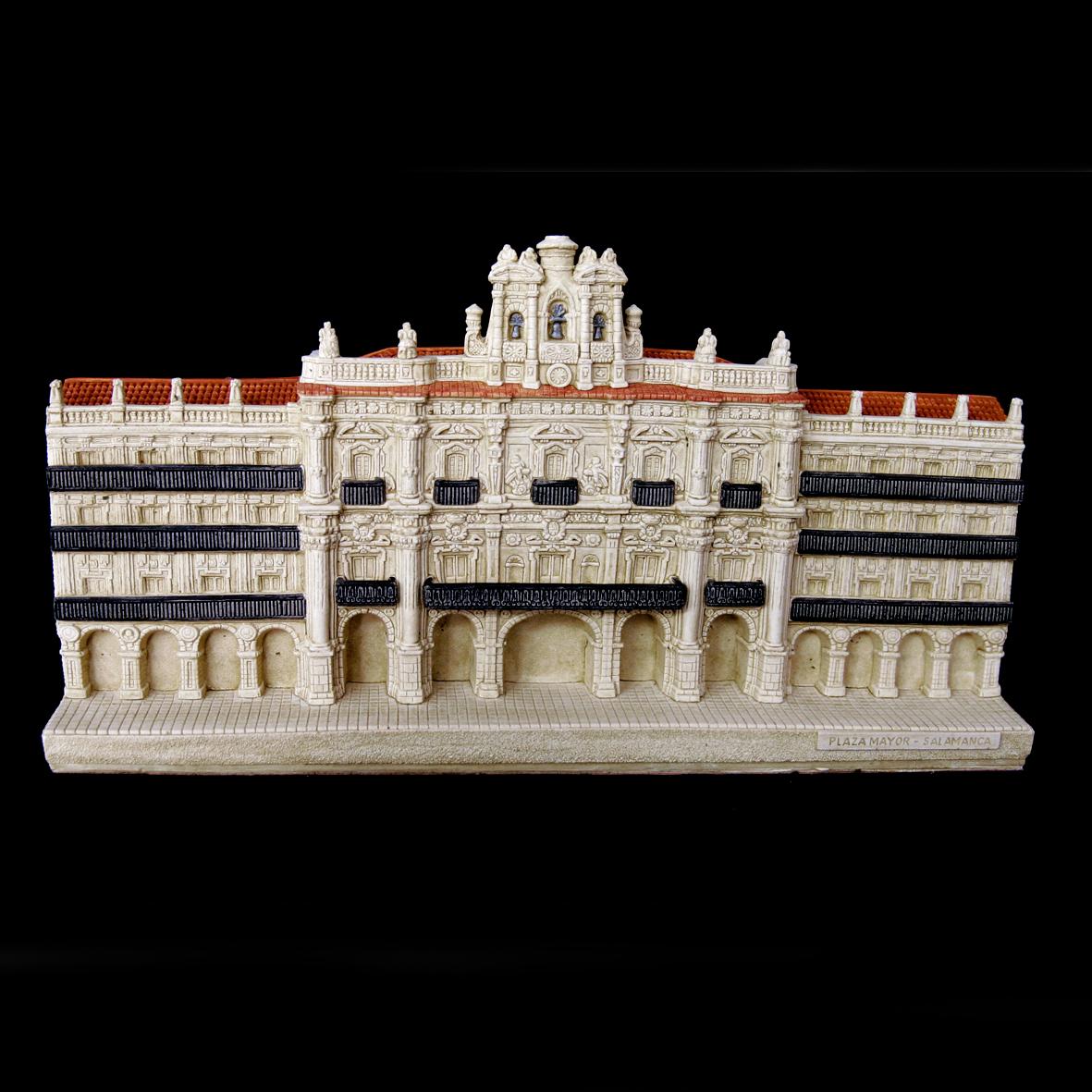 Plaza Mayor con la Fachada del Reloj de Salamanca (Salamanca) (Pequeña)