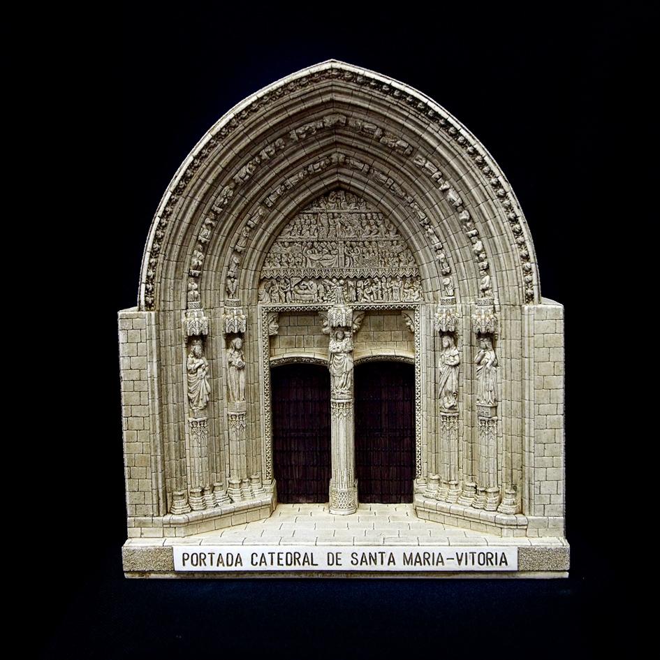 Portada Catedral de Santa María (Vitoria) (Álava) (Grande)