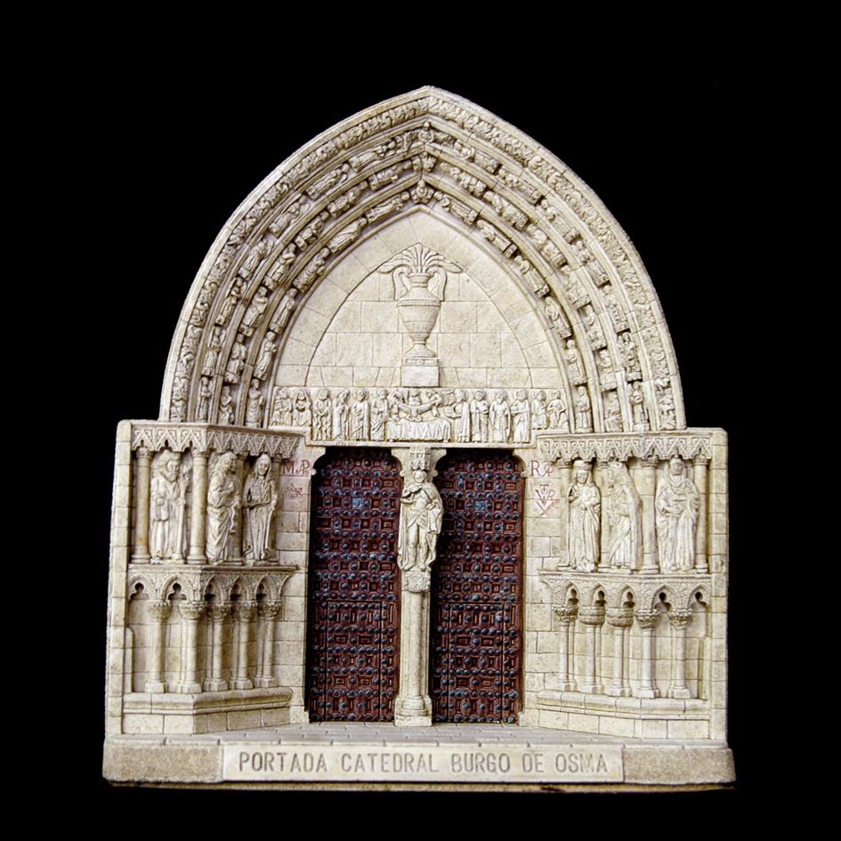 Portada de la Catedral de Burgo de Osma (Soria) (Grande)