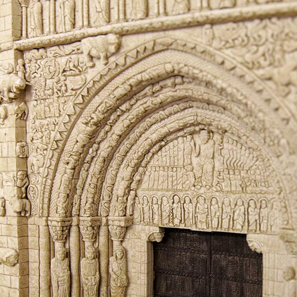 Portada de Santa María de Sangüesa (Navarra) (Grande)