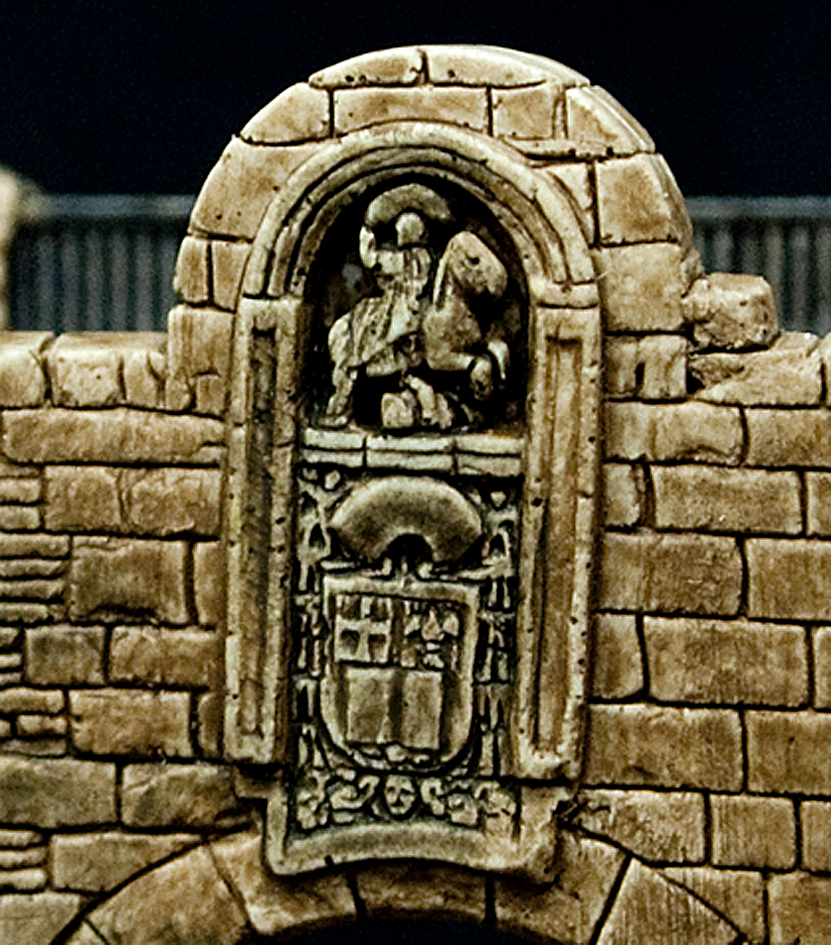 Puerta de Santiago de la Muralla de Lugo