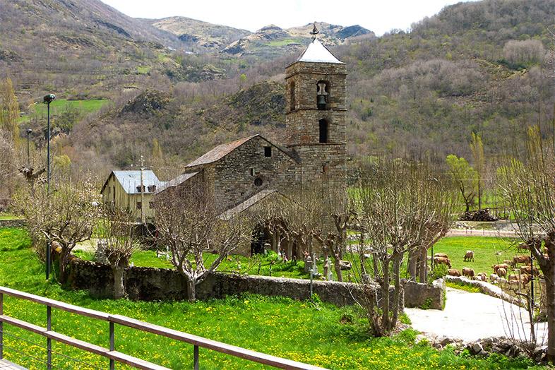 Románico de montaña. Del Valle de Bohí a Andorra.