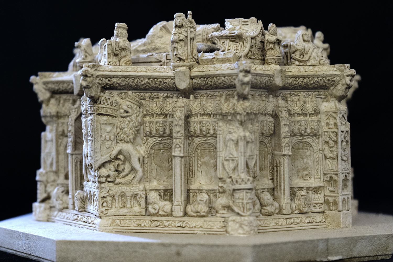 Sepulcro de Juan II e Isabel de Portugal - Cartuja de Miraflores (Burgos)