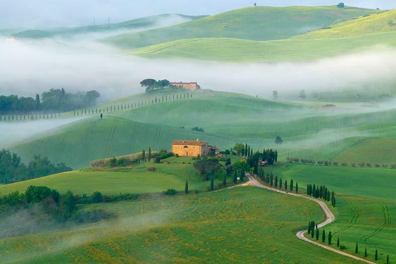 Toscana rural. Del valle del Orcia al valle del Chianti