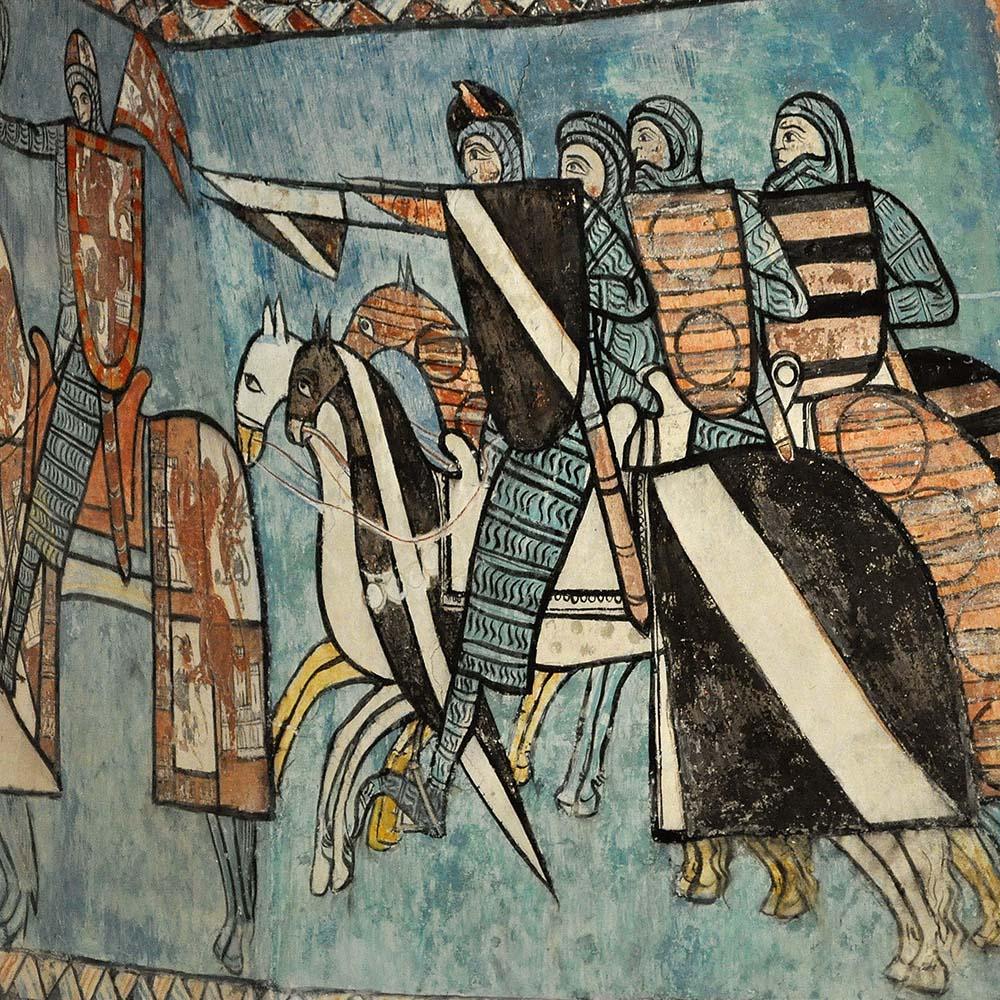 VIII CURSO DE CULTURA MEDIEVAL.  La guerra en la España medieval. (online).
